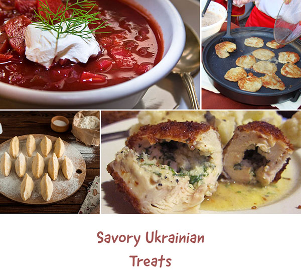 Authentic Odessa dishes